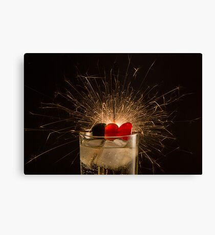 Have a Sparkling New Year! Canvas Print