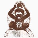 Chinese Zodiac Year of The Monkey Abstract by ChineseZodiac