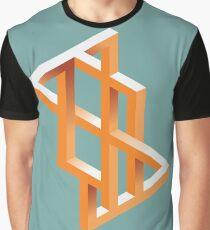 Escher Maze Graphic T-Shirt