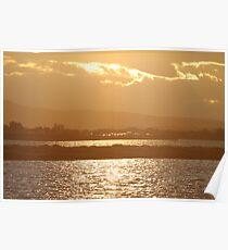 Sunset Camargue Poster