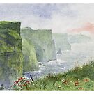The Cliffs of Moher (Aillte an Mhothair) by thedrawinghands