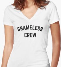 Shameless Crew Women's Fitted V-Neck T-Shirt