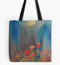 Moonlit Flowers Tote Bag
