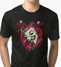 Remember Remember Tri-blend T-Shirt