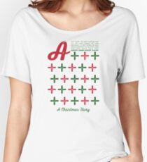 A Christmas Story - A+ Theme Women's Relaxed Fit T-Shirt