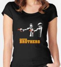 Zapper Brothers Women's Fitted Scoop T-Shirt