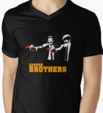 Zapper Brothers Men's V-Neck T-Shirt