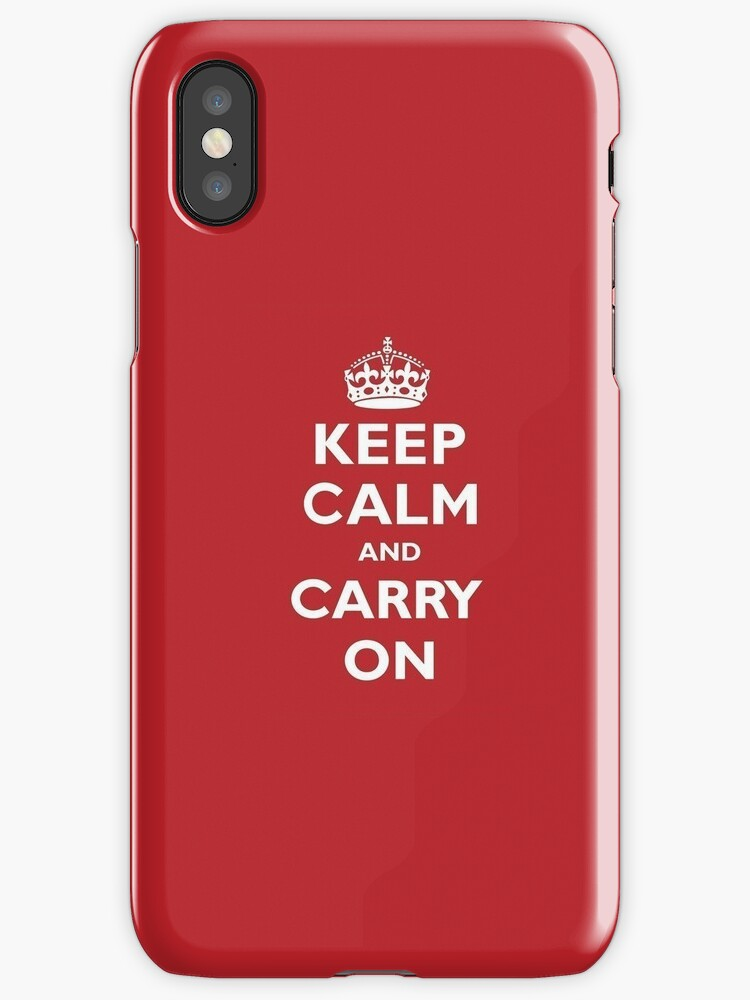keep calm and carry on by jon  daly