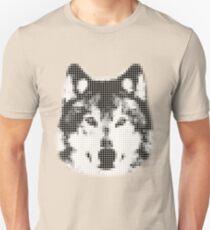 Digital Wolf Mosaic Unisex T-Shirt