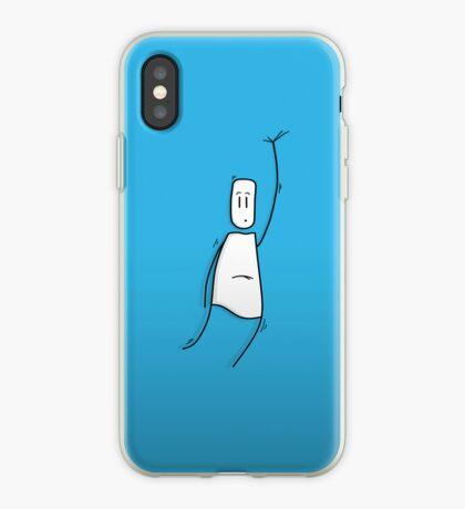 Hanging guy iPhone Case