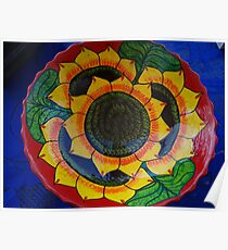 Bowl Painted by Hand - Fuente Pintada a Mano Poster