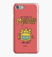 Look behind you, a three-headed mustard! iPhone Case/Skin