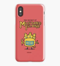 Look behind you, a three-headed mustard! iPhone Case
