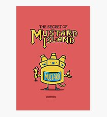Look behind you, a three-headed mustard! Photographic Print
