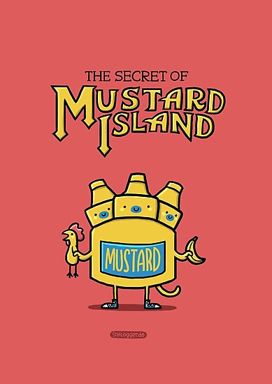 Look behind you, a three-headed mustard! by Schlogger