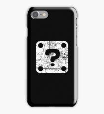 Mario Question Block iPhone Case/Skin