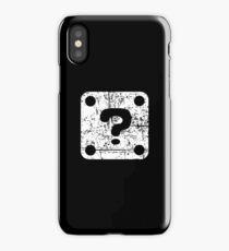 Mario Question Block iPhone Case