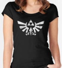 Zelda Triforce Symbol Women's Fitted Scoop T-Shirt