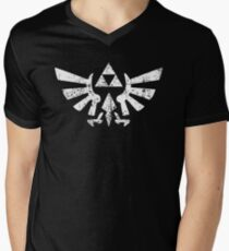 Zelda Triforce Symbol Men's V-Neck T-Shirt