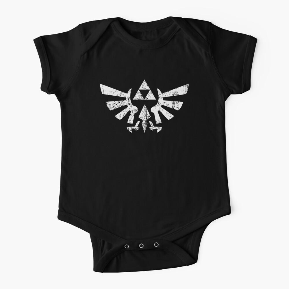 Zelda Triforce Symbol Body para bebé
