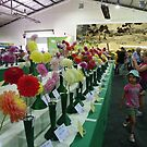Dahlias, 2011 Royal Canberra Show by Kate Howarth