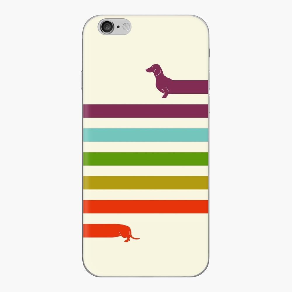 (Sehr) Langer Dackel iPhone Klebefolie
