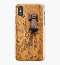 Hand doorknocker iPhone case iPhone Case