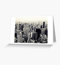 Empire skyline Greeting Card