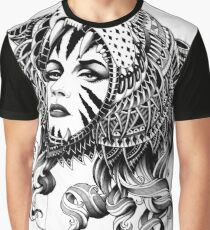 Camiseta gráfica Tigresa