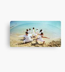 Group of Yoga Warriors Canvas Print