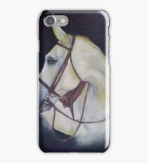 beautiful white horse  iPhone Case/Skin