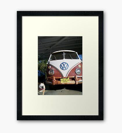Rockin Framed Print