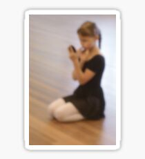 Ballet dreams Sticker