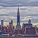 NYC Skyline from Hoboken by mikepaulhamus