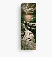 Peggy's Cove Vertical Pano Canvas Print