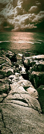 Peggy's Cove Vertical Pano by jphphotography