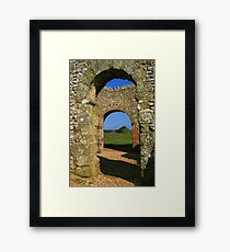 Norman Arches Framed Print