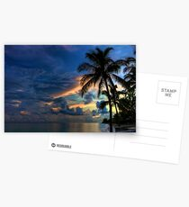 Sunset in the Bahamas Postcards