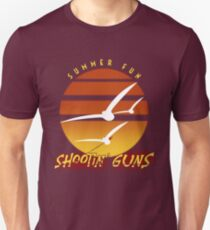 Summer Fun Shootin' Guns Unisex T-Shirt