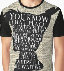 Peter Pan Vintage Dictionary Page Style -- That Place Graphic T-Shirt