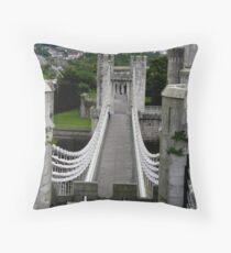The genius of Telford Throw Pillow
