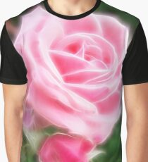 Pink Roses in Anzures 2 Angelic Graphic T-Shirt