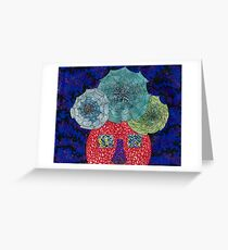 web head Greeting Card