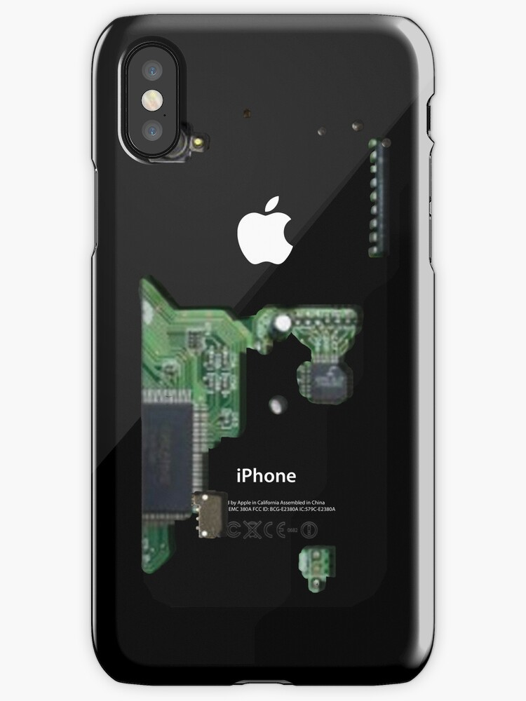 Inside an iPhone Cover by danzzig