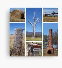 Country Collage Canvas Print