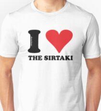I LOVE THE SIRTAKI Unisex T-Shirt