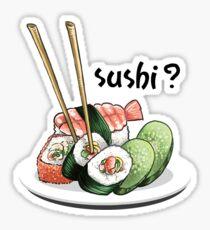 Sushi? Sticker