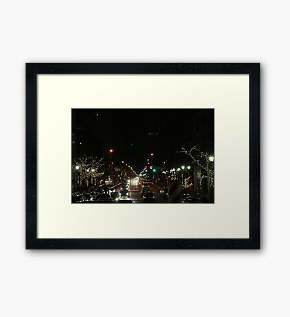 Meridian Night Framed Print