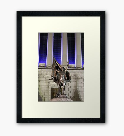 Indiana Remembers Pro Partia Framed Print