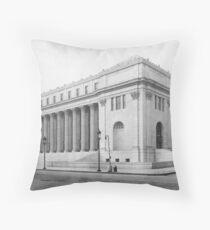 Cojín Vintage James Farley NYC Post Office Photograph